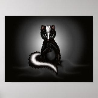 cute Skunk Poster
