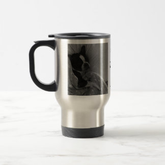 Cute Sleeping Boston Terrier Mug