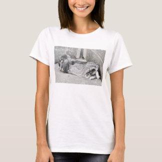 Cute sleeping bunny t-shirt