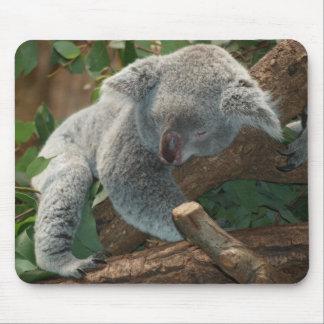 Cute Sleeping Koala Bear Mouse Pad