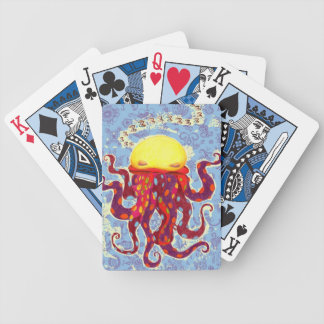 Cute Sleeping Octopus Playing Cards