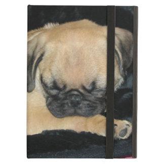 Cute Sleeping Pug Puppy iPad Air Cover