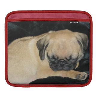 Cute Sleeping Pug Puppy Sleeve For iPads