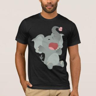Cute Sleepy Cartoon Elephant  T-Shirt