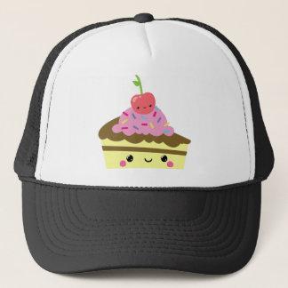Cute Slice of Kawaii Ice Cream Cake Trucker Hat
