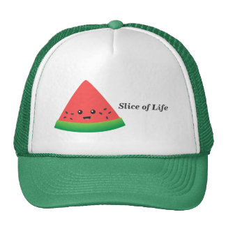 Cute Slice of Watermelon Trucker Hat