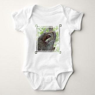 Cute Sloth Baby Bodysuit