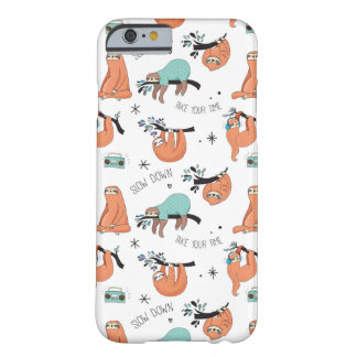 Cute Sloth iPhone Case