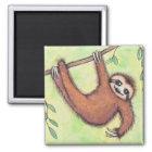 Cute Sloth Magnet