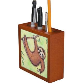 Cute Sloth Pencil Pen Holder