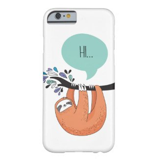 Cute Sloth Phone Case