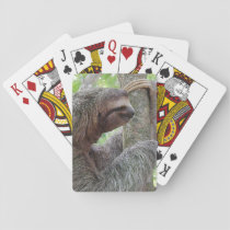 Cute Sloth Playing Cards