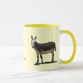 Cute Small Burro - Donkey Horse Animal Rescue Mug