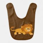 Cute Smart Cartoon Lion Baby Bib