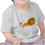 Cute Smart Cartoon Lion Baby T-shirt