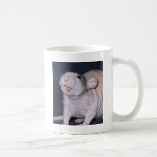 Cute Smile Rat Coffee Mugs