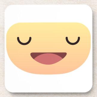 Cute Smiley face Beverage Coaster