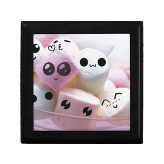 cute smiley face marshmallows gift box