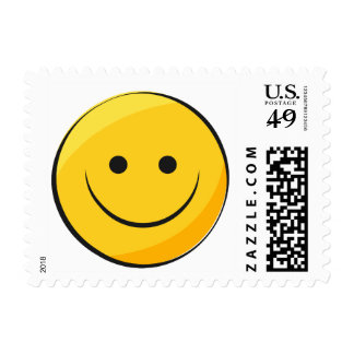Cute Smiley Face Postage