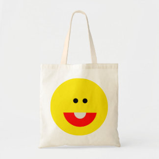Cute Smiley Face Tote Bags