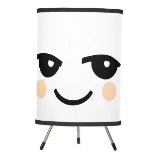 CUTE SMILEY FACE TRIPOD LAMP