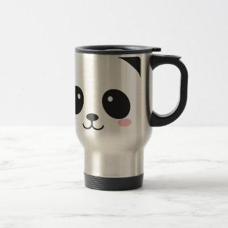 Cute Smiley Panda Travel Mug