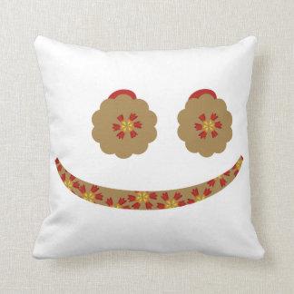 cute smiley pillow
