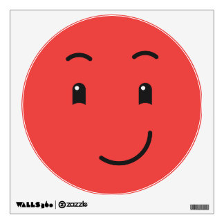 Cute Smiley wall decal 1/9