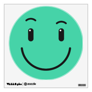 Cute Smiley wall decal 2/9