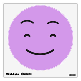 Cute Smiley wall decal 4/9