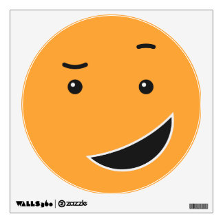 Cute Smiley wall decal 9/9