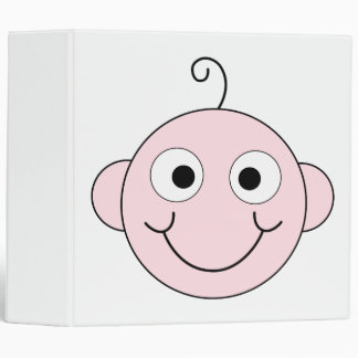 Cute Smiling Baby. 3 Ring Binder