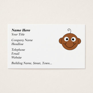 Cute Smiling Baby. Business Card