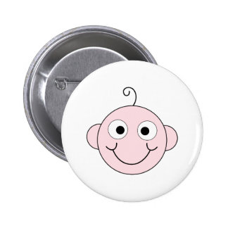 Cute Smiling Baby. Buttons