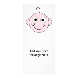 Cute Smiling Baby. Custom Text. Customized Rack Card