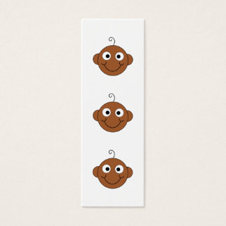 Cute Smiling Baby. Mini Business Card