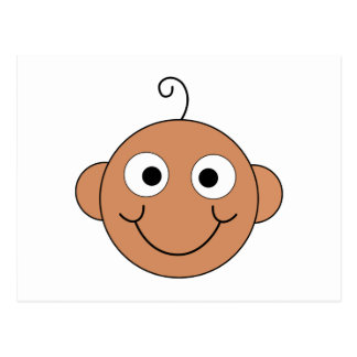 Cute Smiling Baby. Postcard