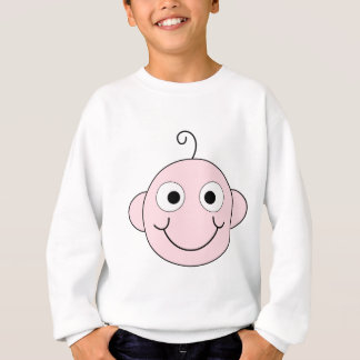 Cute Smiling Baby. Sweatshirt