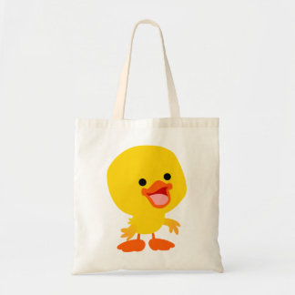 Cute Smiling Cartoon Duckling Bag