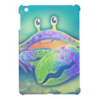 Cute Smiling Crab iPad Mini Cases