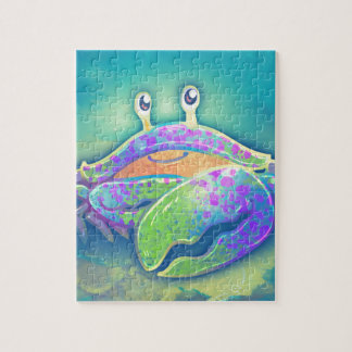 Cute Smiling Crab Jigsaw Puzzle
