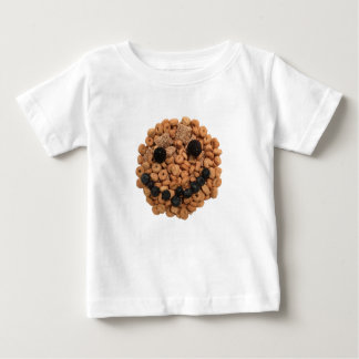 Cute Smiling Fruit and Cereal Face Baby T-Shirt