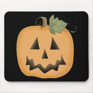 Cute Smiling Jack O'lantern Mouse Pad
