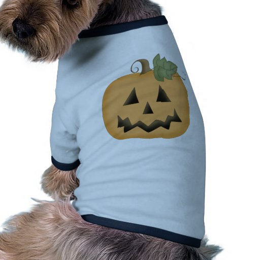 Cute Smiling Jack O'lantern Pet T Shirt