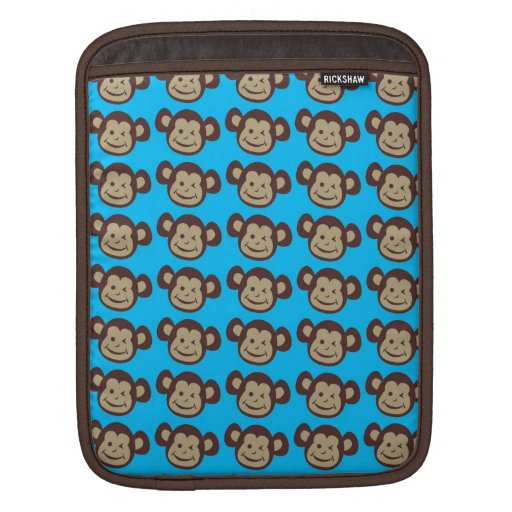 Cute Smiling Monkeyk Laptop Sleeve Sleeves For iPads
