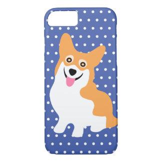 Cute Smiling Pembroke Welsh Corgi Puppy iPhone 8/7 Case