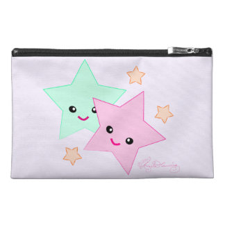 Cute Smiling Stars Travel Accessories Bag
