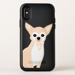 OtterBox Apple iPhone X Symmetry Case with Chihuahua Phone Cases design