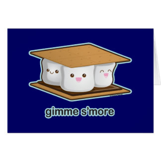Cute S'more Card