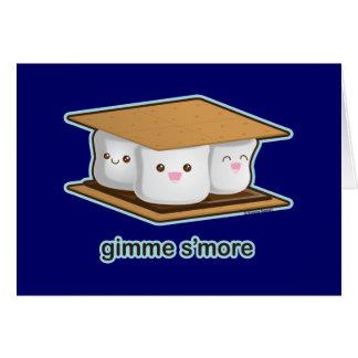 Cute S'more Greeting Card